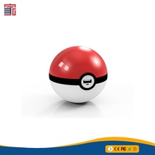 2016 New Arrival Generation 2nd Pokemon Go Pokemon Power Bank Poke luminescent Ball Mobile Charger