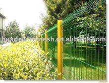 dog fence, wire fencing, pvc coated welded wire mesh fence