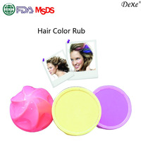 New Arrival Chalk Hair Color A Trend!Mix 12 Colors Temporary Hair Color Dye Pastel Chalk Bug Rub