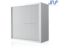 High dust containing capacity Cassette H10\H12\H13\H14 HEPA Air Filters For Engineering