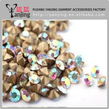10Gross 5mm crystal point back white ab color rhinestones
