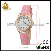 Nice Looking Alloy Case Leather Pair Lovers Gift kids popular watches silicone children watch