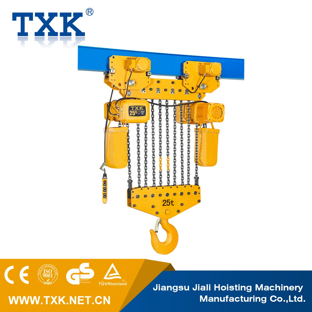 2 ton ER2 electric chain hoist with trolley