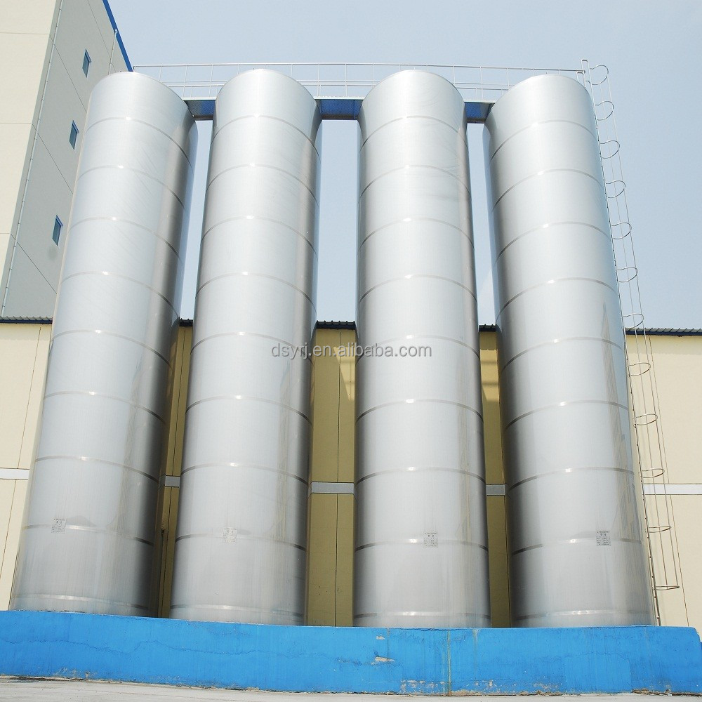 Dasanyuan Factory Direct Sale Outdoor Vertical Milk Cooling Tank Price