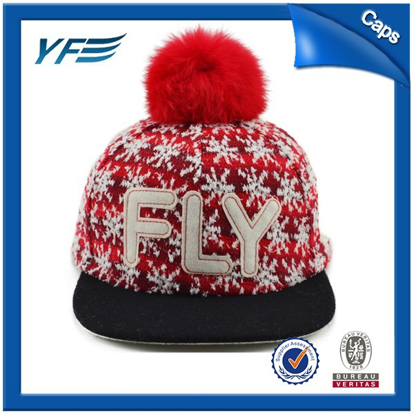 design hip hop cute winter hats for girls