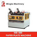 MB-400 The Best Manufacture medium speed automatic Paper Plate making Machine supplier