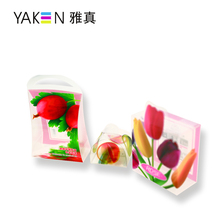 Customize any size rich color pp clear plastic moving box