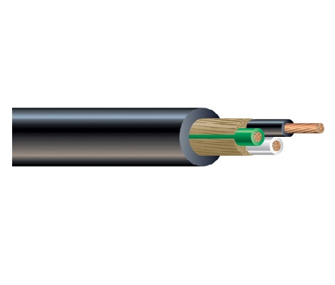 Type SJOOW Cable wire with Flexible Cords Copper conductor and PVC insulation cable wire