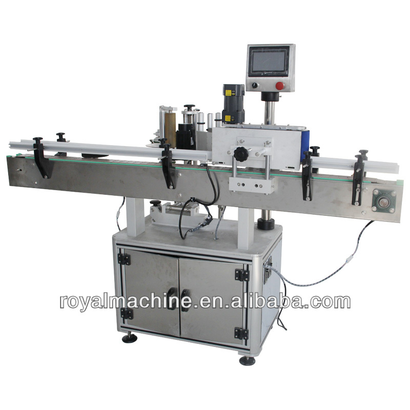 Automatic round sticker labeling machine/labeling machine for round bottle