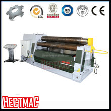 hect W12 four rollers hydraulic joint rolling machine