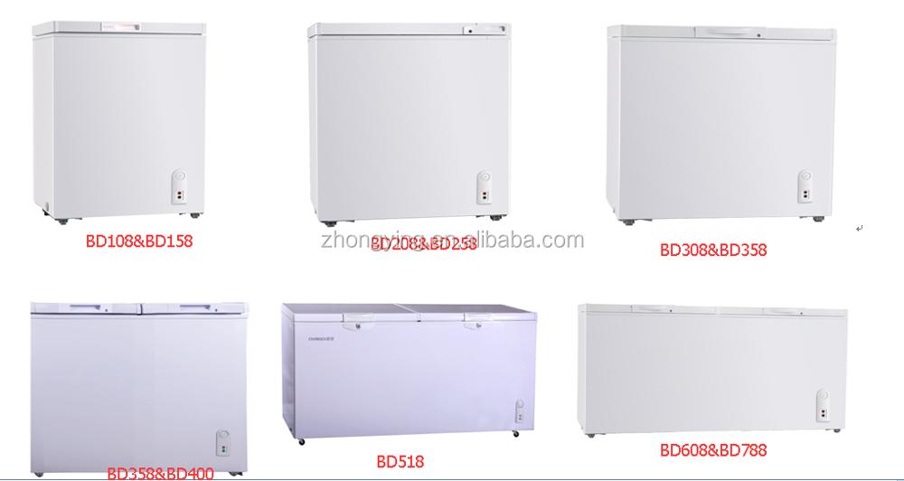 500l 2 porte réfrigérateur congélateur à dubaï-Congélateur-ID de ...