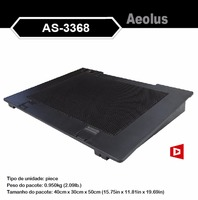Alseye HA301 manufacturer portable 17 inch laptop computer cooling pad cooler pad
