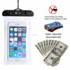 Waterproof Case phone waterproof bag Transparent PVC screen for iphone and andriod