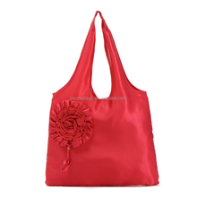 Wholesale Flower Shopping Bag Foldable Rose Shopping Bag