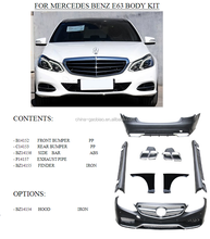 body kit for mercedes benz W212 E63 upgraded body kit for 2010-2014 by maker
