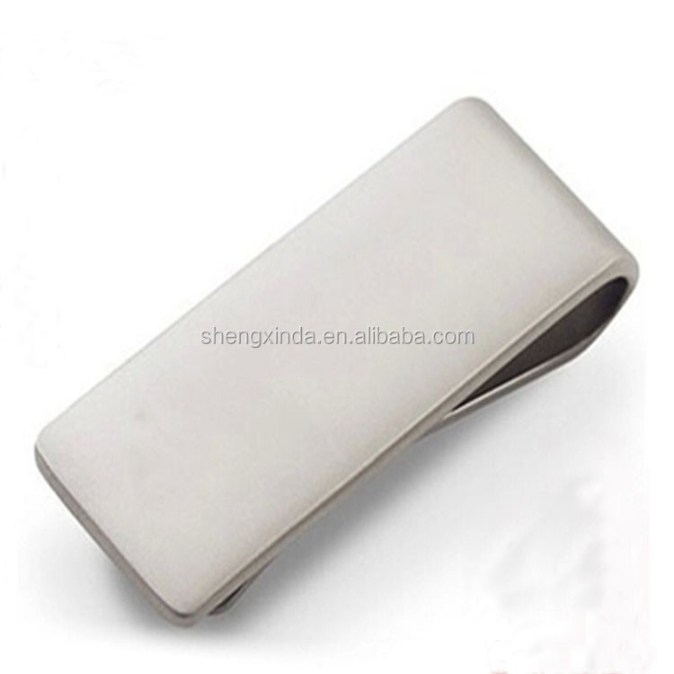 Cool Stainless Steel Slim Wallet Money Clip for groomsman