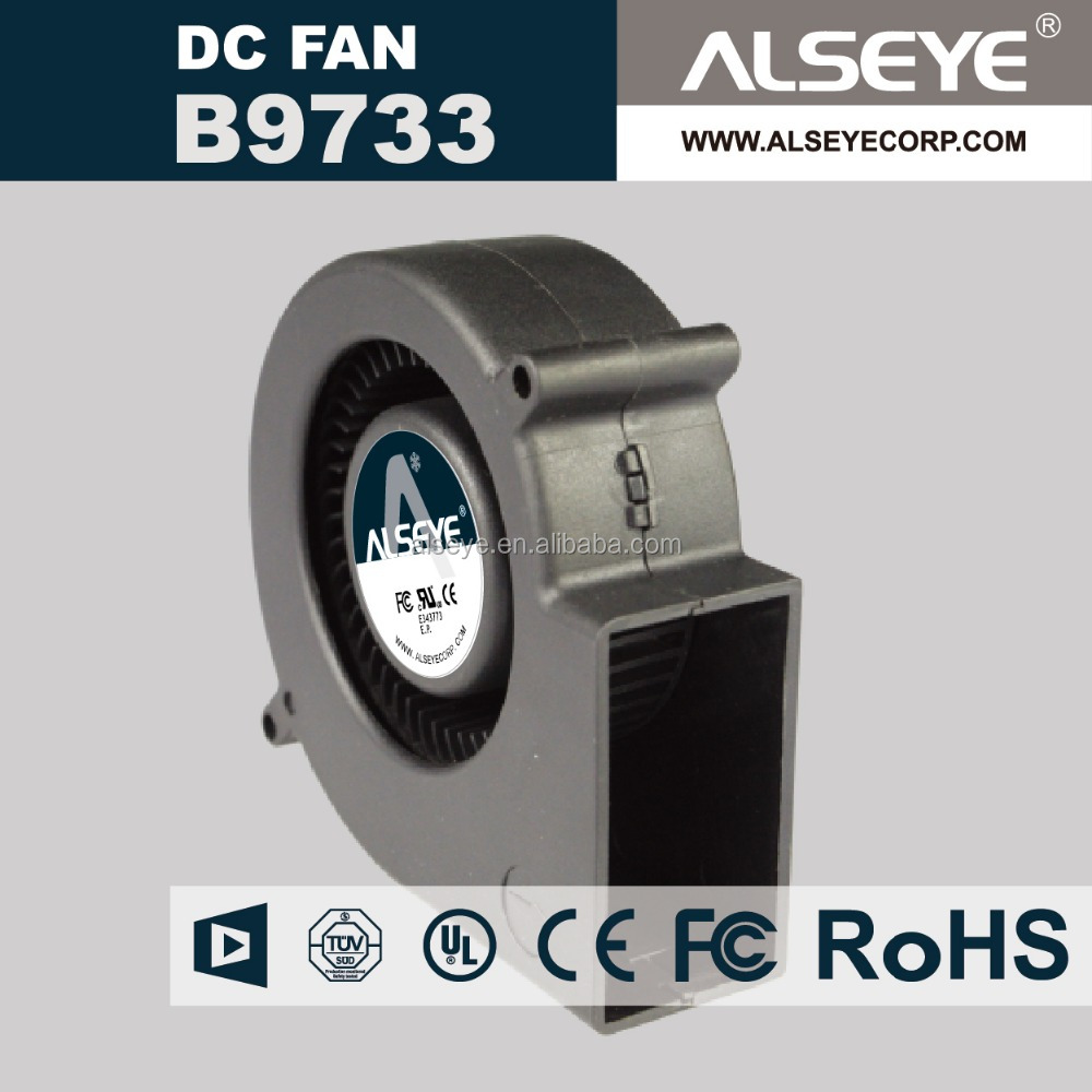 Alseye CC0932 manufacturer fan and blower 97mm x 33mm 4 Inch 9733 12V dc fan