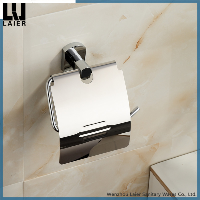 Brass Chrome Finished Toilet Paper Holder For Bathroom Decor