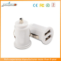MP3 Player/Smartphone/Ipad Promotional 12V Battery Car Charger with CE/FCC/RoHs Certification