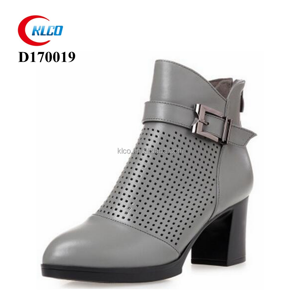 women latest mold pu leather breathe freely boots
