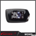 Two way car alarm system M905 with newest LCD remote and remote engine start function