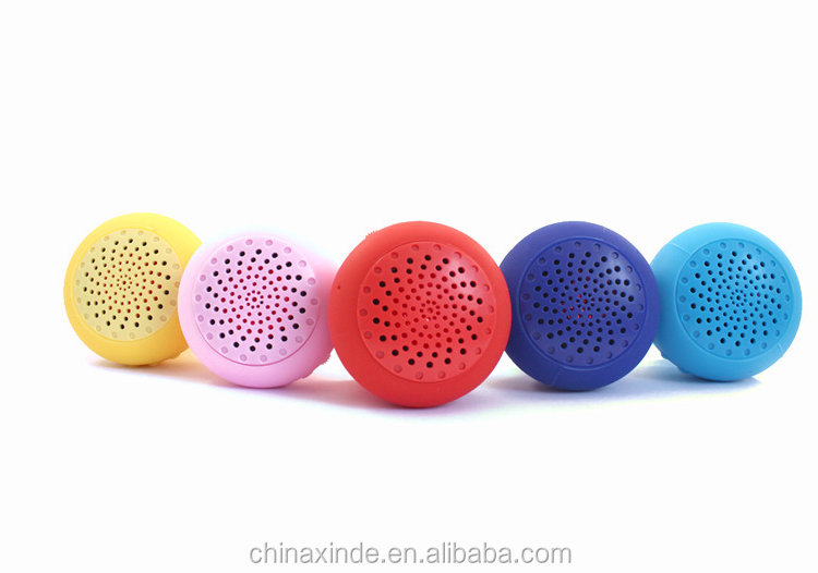 Shower Rroom Suction Cup Mushroom Bluetooth Speaker Mini Portable wireless bluetooth speaker for Apple & Android Devices