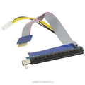 PCI-E Express 1X TO 16X riser card extension with power cable