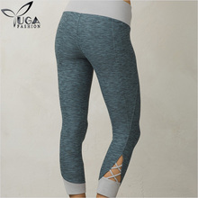 Straps Crossed Above Leg Opening Dry Fit Fabric Best Tight Yoga Leggings