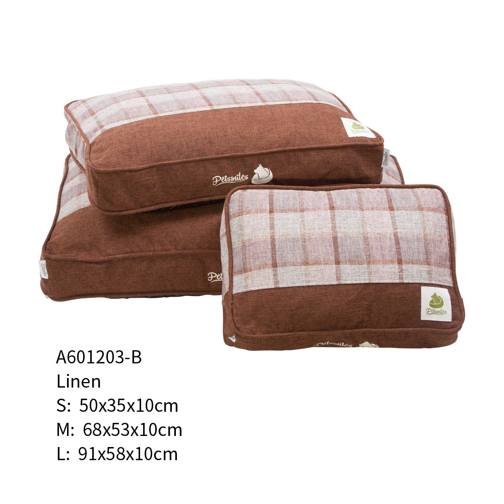 New Design Super Soft Customized Cheap Stuffing Pet Dog Beds