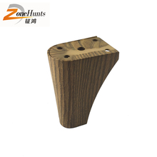 Customized vintage guangdong hardware tapered cheap buy short small sofa wooden legs