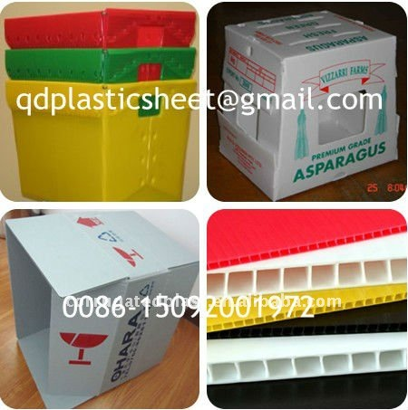 Eco-friendly Plastic Honeycomb Corrugated Boxes