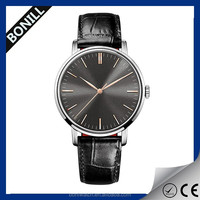 Fashionable Stainless steel manufacturer quartz fancy wrist watches for men