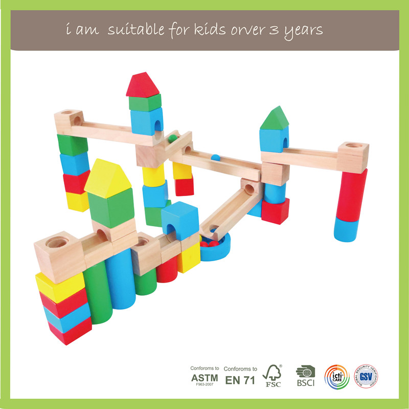 Eco-Friendly Children Play Wooden Marble Tree
