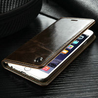 Top Sale PU Leather Case for iPhone 6s, CaseMe for iPhone 6s Cover Case, Stand Wallet Case for iPhone 6 6s