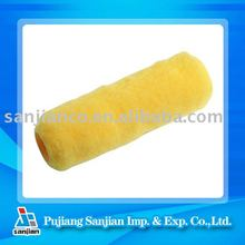 SJIE81133 Us style Yellow Polyester paint roller cover