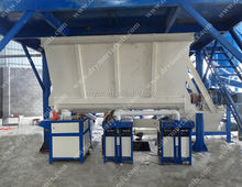 Latest Chinese product MG full automatic mortar mixing and bagging machine export to Malaysia hot sale