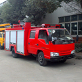 JMC Fire Truck 3000L water foam fire fighting truck size