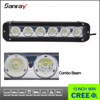 "Fast Shipping Long Life Span Straight 60w 11"" Marine Led Light Bar"