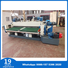 wood log peeling machine sliced chinese walnut veneer