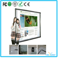 "school 88""infrared technology finger touch directly interactive whiteboard classroom"