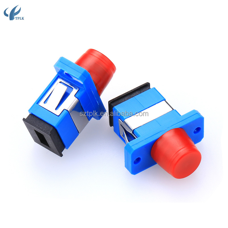 SC-FC Simplex,Singlemode SC/upc to FC/UPC Hybrid Fiber Optic Adapters or Coupler,IL<0.2dB