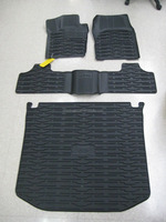 2013-2015 Jeep Grand Cherokee Front/Rear Slush Mats and Cargo Liner Combo