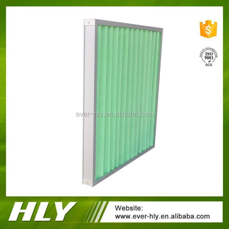 2016 Chinese suppliers G1- G4 panel air conditioner filter for sale