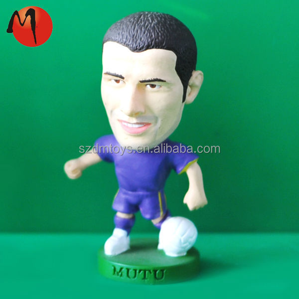 Miniature Soccer Star Figure, Kodoto Football Player models