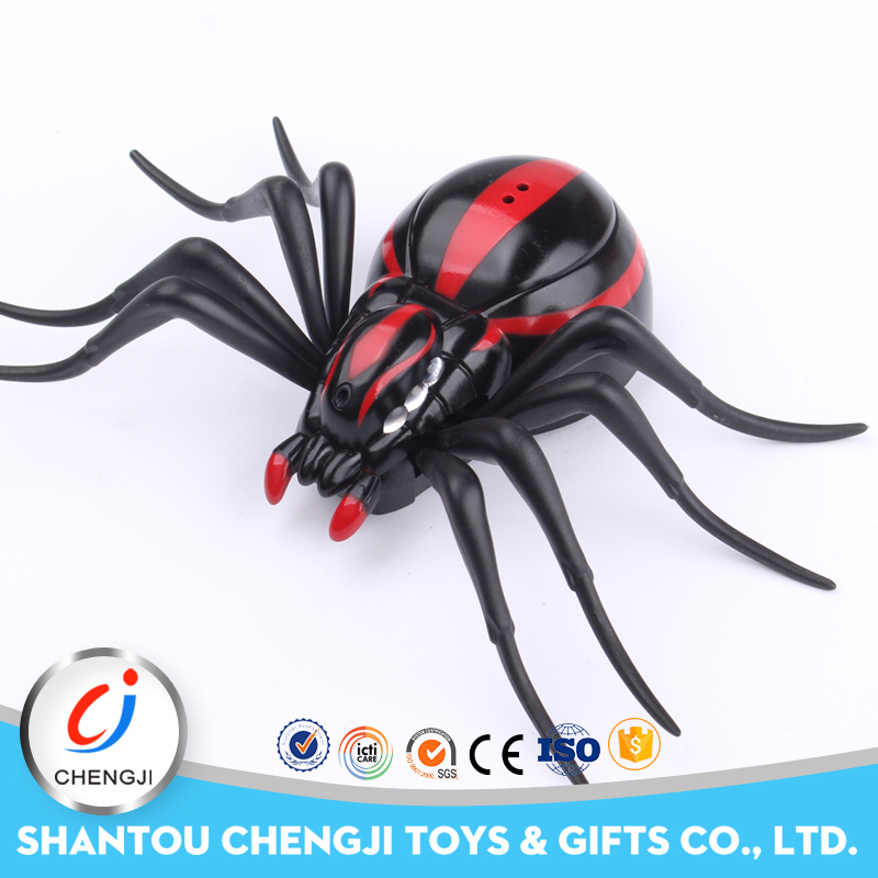 2016 New bright excellent quality rc infrared spider toy for kids