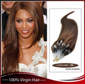8A grade remy human hair extensions hot sell names of hair extension Russian micro loop ring hair extension