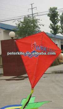 advertising diamond kite