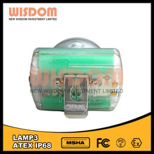 mining lights msha approved Wisdom lamp 3 rechargeable miners head lamp