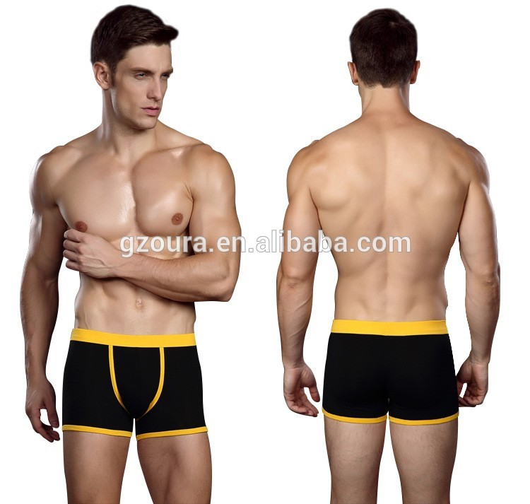 Top Sale Best Selling Modal Cotton Front Open Private Brand Micro Man Underwear Boxer