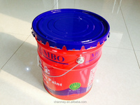 4.75 Gallon metal pail with steel handle for paint, coating or other chemical products